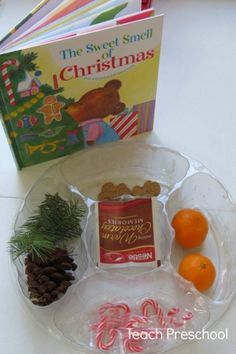 The sweet smell of Christmas book and activity