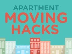 9 #Apartment #Moving Hacks to make your move quicker and easier! #packing