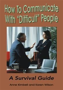 How well do you cope with difficult people in trying situations? Do you loose your cool and your temper? Or do you turn the situation into a win–win one by your skillful handling of some of the following situations: the office back stabber who talks about you at the coffee machine; the person who takes credit for the work that you have done; the boss who puts a hand on your knee under the table at a business meeting.