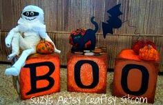 Top 10 Halloween crafts!  #Halloween #crafts featur friday, halloween decorations, friends, toilet paper rolls, craftsi sitcom, halloween crafts, artsi craftsi, scary halloween, marvin