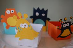 Monster Candy Cups by Giggle Bees #birthday #boy #etsy
