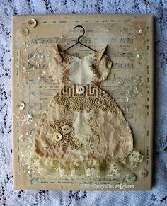 altered dress canvas