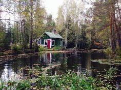 Green river cottage in Southern Finland. Contributed by Sulka Nurkka.
