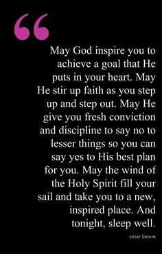 Beautiful prayer.