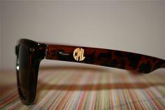 monogramed sunglasses? Uhh yeaah...