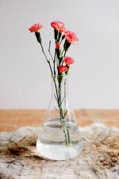 vintage glass chemistry laboratory beaker by foxfeathersvintage, $19.00