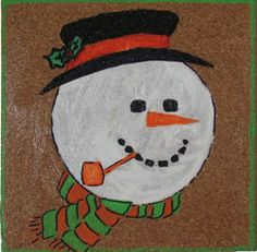 If you are looking for cool craft ideas, this Corky Snowman Coaster will be a hit with the kids. These fun coasters are simple, fun things to craft. The tutorial shows you how to make coasters using cork, which could be recycled from an old bulletin board. Use paint and pens to make coaster designs that look like snowmen.