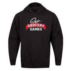 Keep warm and snug for the winter with the Guy's Grocery Games Hoodie, available at the Food Network Store.