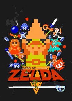 The legend of Zelda ! Good poster ;)