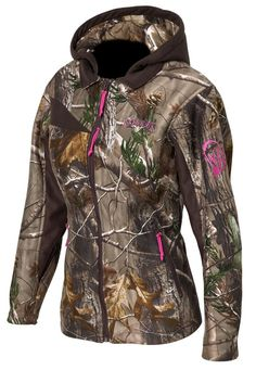 <3 HERCAMOSHOP - Scent-Lok Wild Heart parka--not much of a camo girl but I really like this one