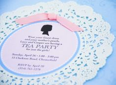 Tea Party:  invitation tea parti, bridal tea, place cards, party invitations, shower invitations, wedding invitations, bridal shower tea, unique weddings, bridal showers