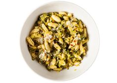 Spicy Cavatelli with Zucchini and Leeks Recipe - Bon Appétit