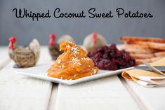 Whipped Coconut Sweet Potatoes