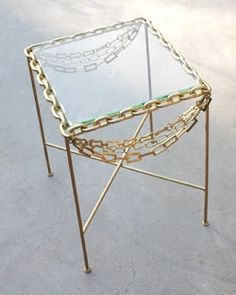 Rickman Triple Strand end table http://www.mothdesign.com/ (featured in House Beautiful - June 2009 issue)