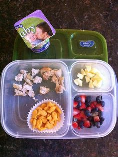 The Good Life: Packing Lunch for School for a toddler