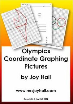 FREE Olympic Medal Coordinate Graphing Activity