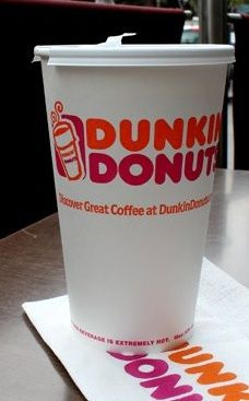 Dunkin' Donuts Cup