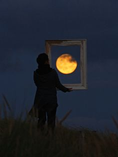hanging the moon.