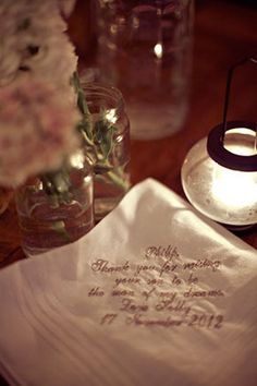 Wedding hankie for the Mother of the Groom. Photography by Lauretta Quax from waihekeweddingphotographer.co.nz