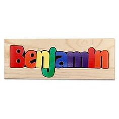 personalized name puzzle board