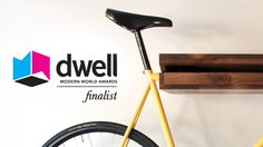 wooden bicycl, bicycl shelf
