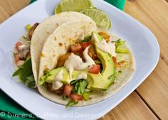 Baja Shrimp Tacos