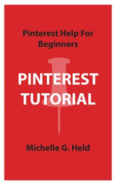 $2.99 Pinterest Tutorial: Pinterest Help for Beginners [Kindle Edition] available now on Amazon!