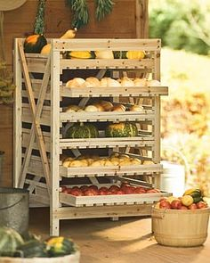 Great way to store your veggies!