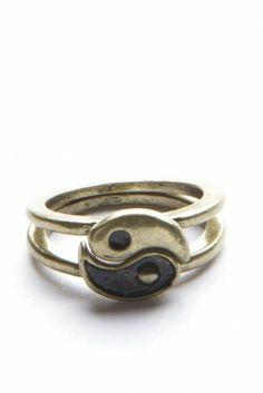 Yin Yang Rings Brandy Melville