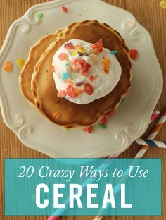 20 Unexpected Ways to Use Cereal