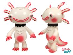 Wanty wanty wanty    Gary Ham's sofubi Wooper Loopers unveiled, to be at SDCC photo gallery
