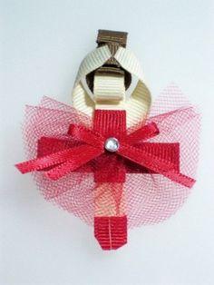 Ballerina hair clip.
