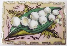 Victorian enamel and silver locket brooch (275$ ...)