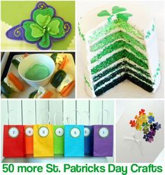50 + St. Patrick's Day crafts/recipes
