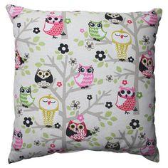 Sit in a Tree Pillow decor, owl pillows, idea, stuff, tree pillow, owls, hoot, thing, owl sit