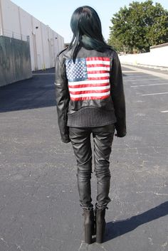 Style2Bones in the America Moto Jacket