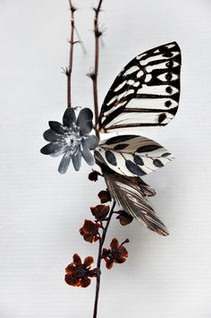 These incredible Flower Constructions were created by Anne ten Donkelaar