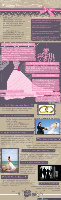 #Wedding #Photography Tips  Cool Daily Infographics |