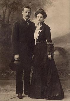 Harry Alonzo Longabaugh (1867 – c. November 6, 1908), better known as the Sundance Kid, was an outlaw and member of Butch Cassidy's Wild Bunch, in the American Old West. He is pictured here with girlfriend Etta Place.