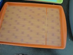 magnetic travel tray