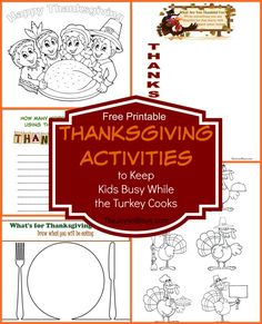 Thanksgiving Activit