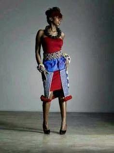 Stylish sepedi traditional wear