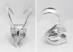 A Mischievous Ring. Loki inspired ring by Mihue.