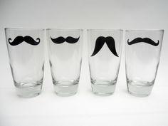 #moustache glasses