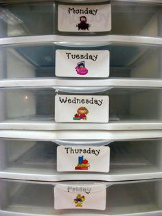 Organize, Organize, Organize!