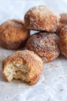 spiced cinnamon sugar puffs