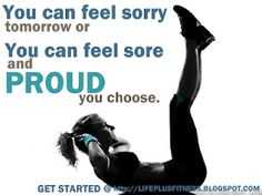Sore and proud