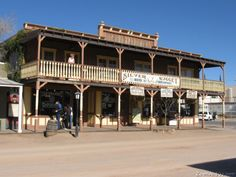 Tombstone, Arizona.  Silver Nugget Bed and Breakfast, where I spent part of my honeymoon.  Directly across the street from the famous Birdcage Theater.