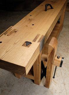 French Oak Plate 11-style workbench