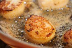 Garlic and Lemon Scallops